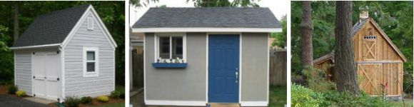 Plans And Designs for Garden Sheds And Backyard Studios
