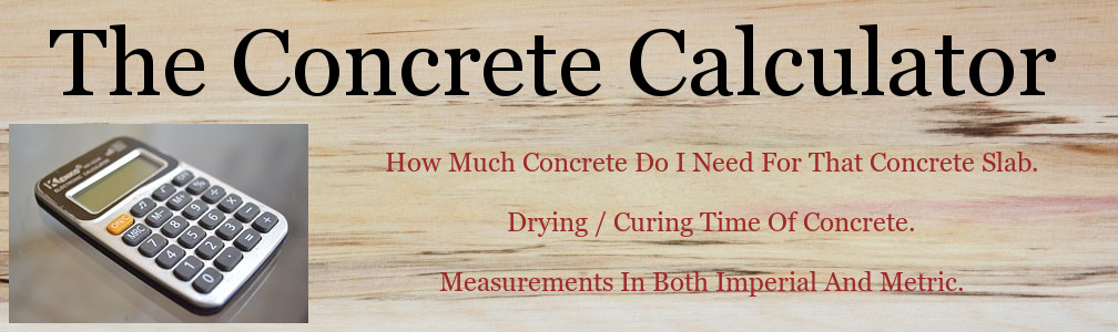 How to work out how much concrete you will need