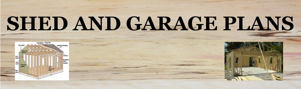 Garden Shed Plans header image
